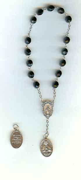 Rosaryandchaplets saint cecilia chaplet prayer saint john vianney chaplet information aloadofball Image collections